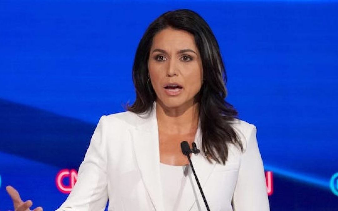 Tulsi Gabbard Hits Hillary Clinton With $50 Million Defamation Lawsuit