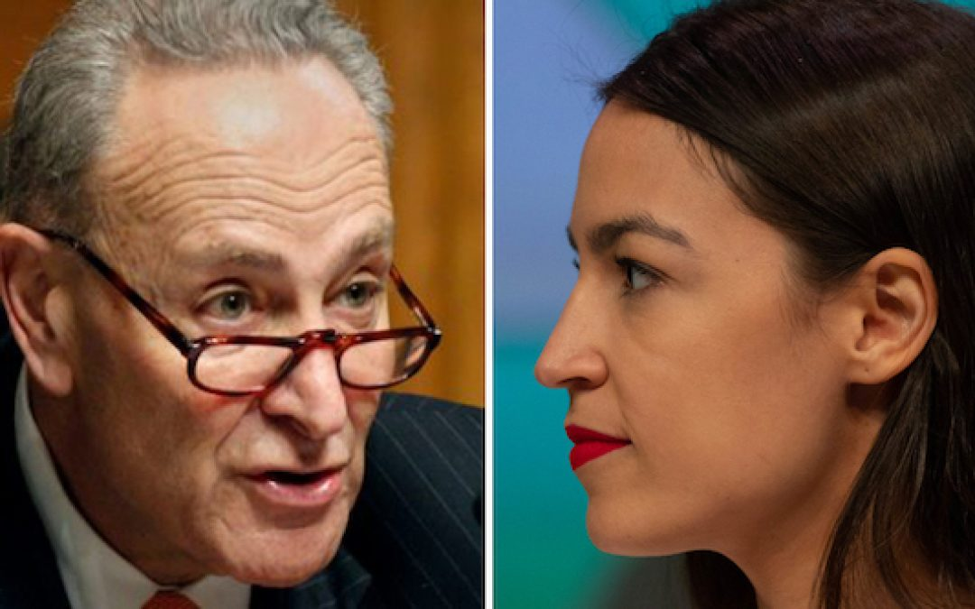 Report: Ocasio-Cortez Might Be Looking To Take Out Chuck Schumer