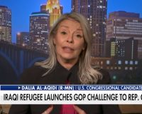 Republican Muslim Refugee Dalia al-Aqidi Announces She's Running Against Ilhan Omar