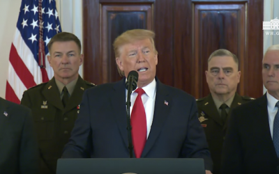 Trump 's Official Statement Responding To Iran Attack (Analysis, Video, and Transcript)