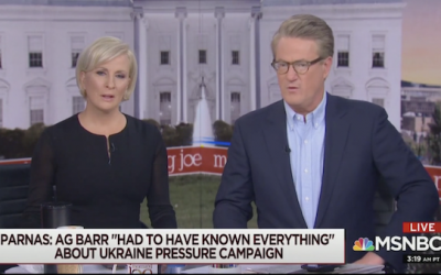 Joe Scarborough punished