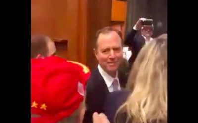 Video: Shifty Comrade Schiff Confronted By Trump Supporters, Told To Move To Venezuela