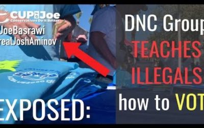 Democrat Caught on Video Teaching Illegals How to Vote