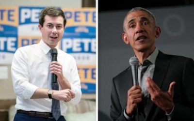 Pete Buttigieg Obama voice