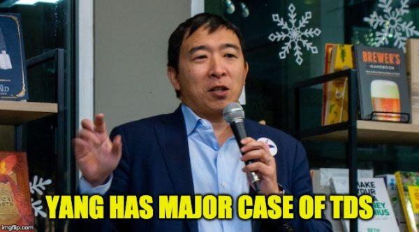 Andrew Yang Blames Trump