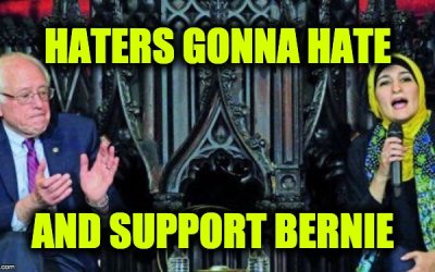 They Go Low: Bernie Slams Trump With Every Name In The Book (Video)