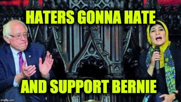 Bernie slammed Trump
