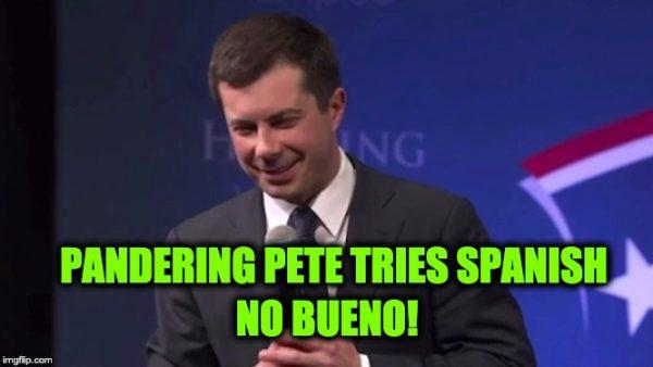 pandering Pete Buttigieg