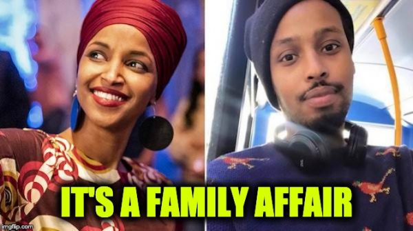 Ilhan Omar married brother