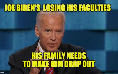 Biden's losing his faculties