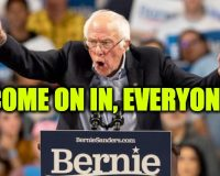 Bernie Sanders Says Illegals 'Entitled' To Same Government Benefits As Citizens
