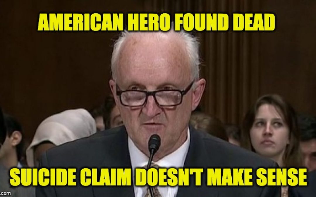 Phil Haney Former DHS Whistleblower Found Dead. But Was It Suicide?