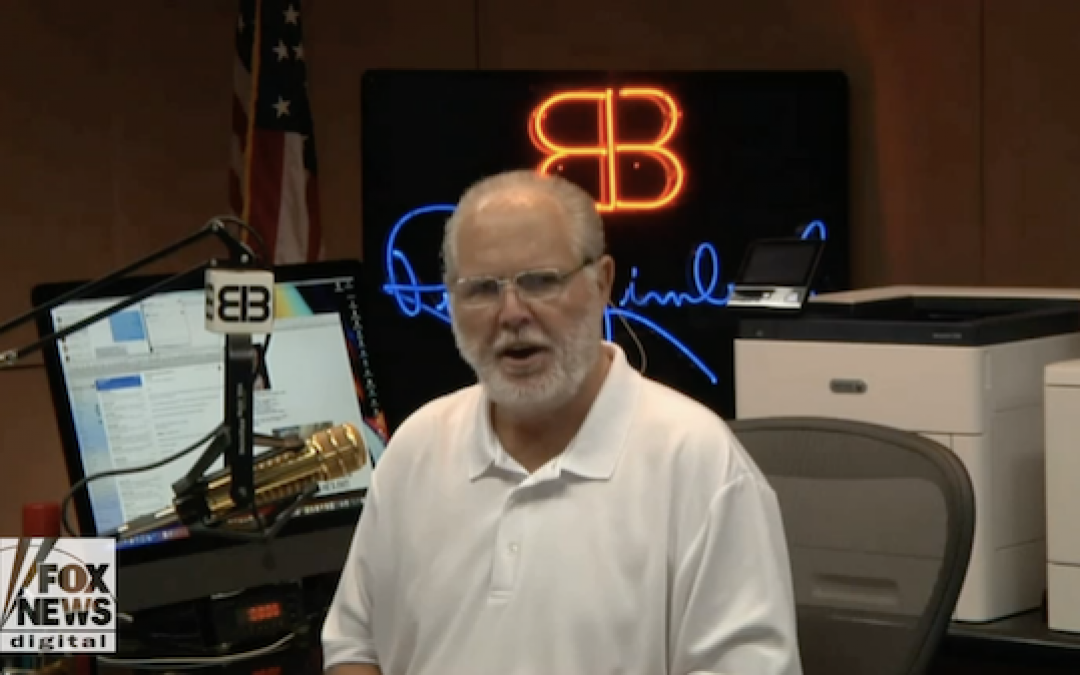 Deranged Liberal Hate-Mongers Celebrate News Of Rush Limbaugh's Cancer