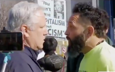 Calif. Republican Stands Up To Antifa Terrorist Who Threatens To 'F*** You Up'