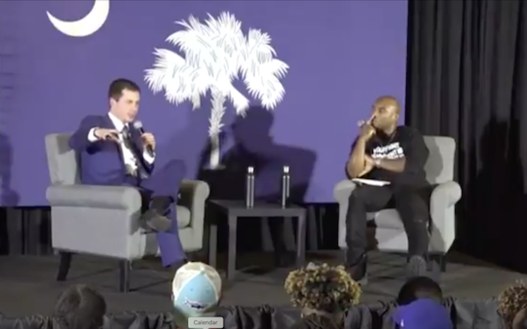 Buttigieg Accidentally Calls Dark Money In Politics Black Money To A Room Full Of African-Americans