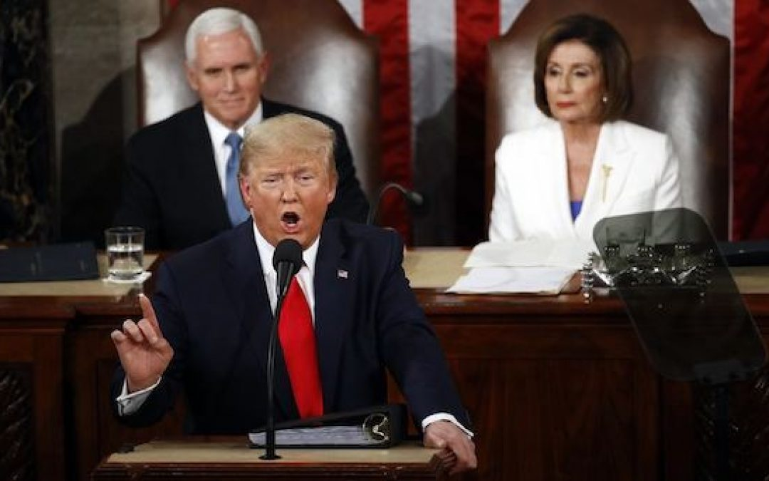 Transcript And Video Of President Trump's 2020 State Of The Union Address