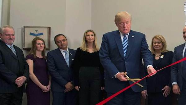 Trump cuts red tape
