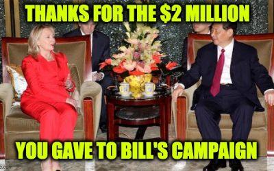 Chinese Ambassador Applauds Hillary Clinton For Spreading Their Propaganda Attacking U.S.
