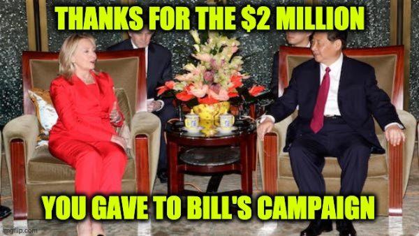 China hillary clinton