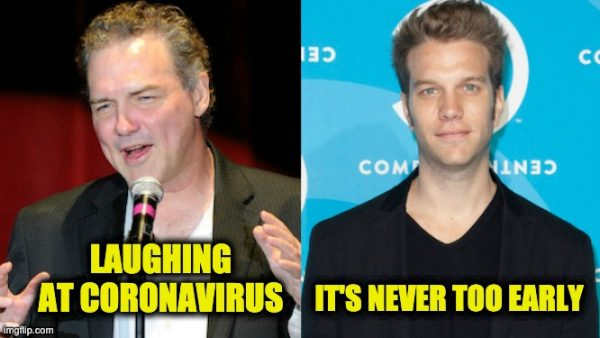 laughing at CoronaVirus