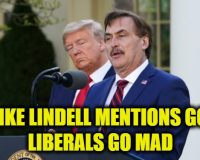 MyPillow's Mike Lindell Speaks In The Rose Garden–Leftists Go NUCKING FUTS!