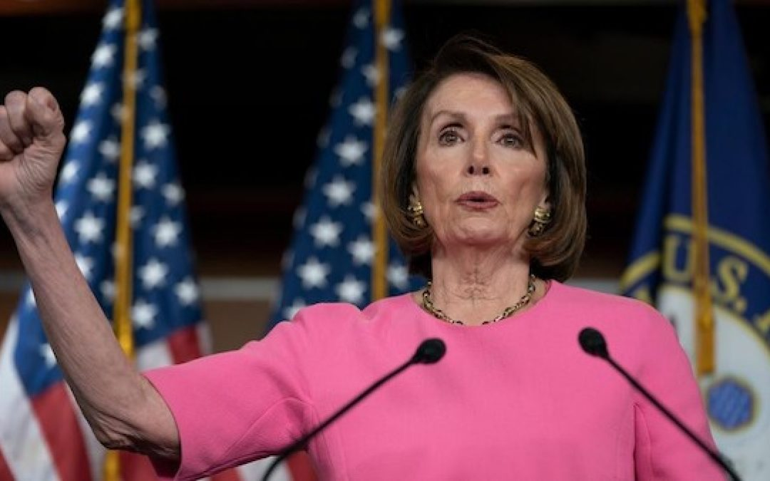 PELOSI: 'Just Generally, I Usually Always Cast My Vote For A Woman. I Just Do.' (VIDEO)