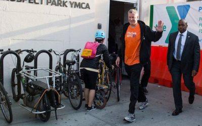 WATCH: Mayor de Blasio Visits Gym After Gov. Closes Gyms