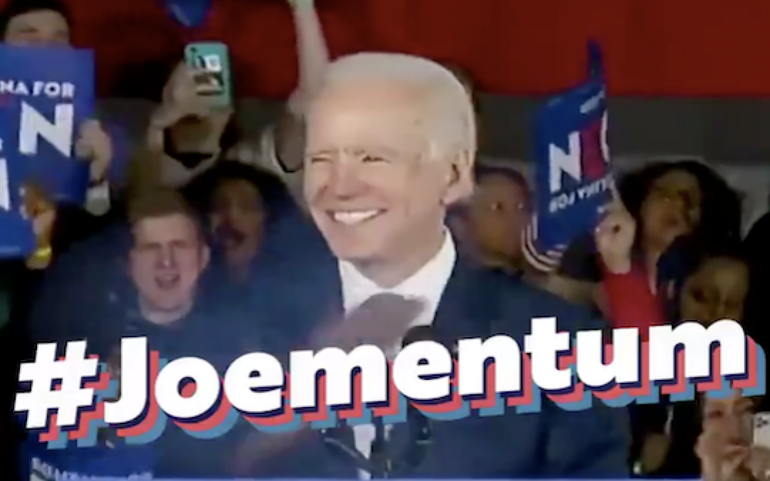 Biden Campaign Posts Cringeworthy Joementum Video: Gets Mocked By Meme-makers