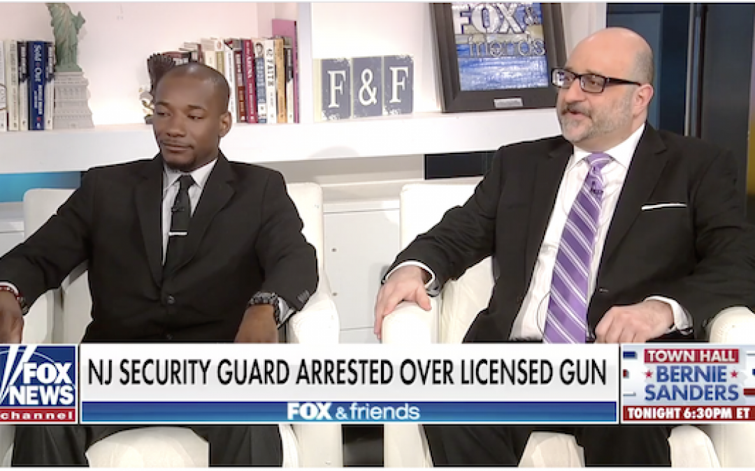New Jersey Security Guard Arrested Despite Legal Handgun and Ammo