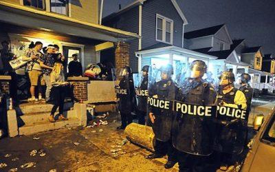 WATCH: U Dayton Students Riot Over COVID-19 Campus Closure