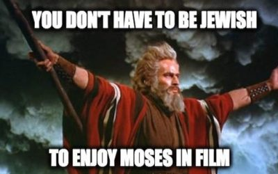 For Passover: Fourteen Video Clips Of Moses From Different Movies
