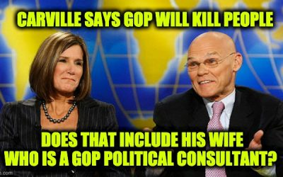 James Carville Claims Republicans 'Will Kill People To Stay In Power, Literally'