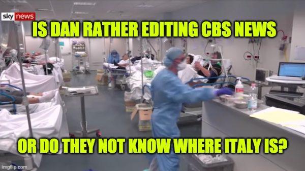CBS caught again