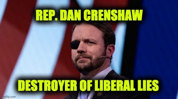 Crenshaw mutilates bogus talking points