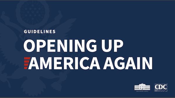 Opening Up America Again