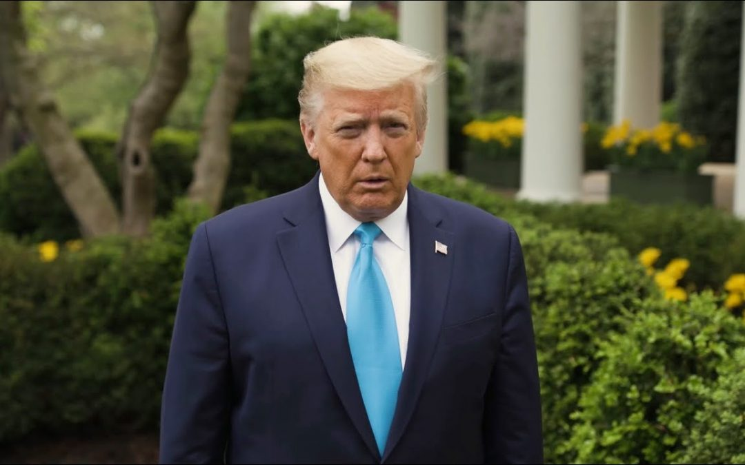 A Passover Message From President Trump