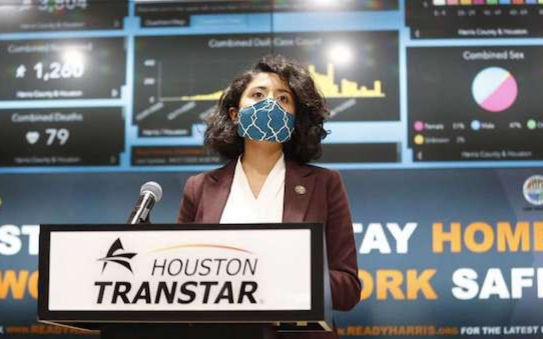 Harris County, Tx Official Mandates Everyone Wear Mask, Lawsuit Filed To Block Order