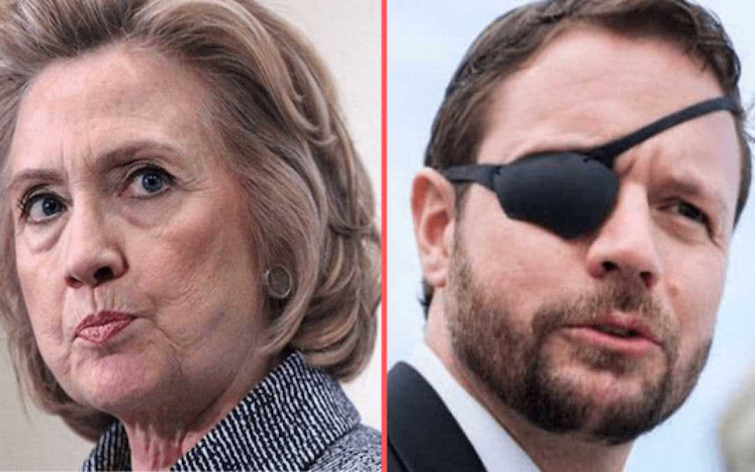 Rep Dan Crenshaw Eviscerated Hillary Clinton After Her Latest Attack on Trump
