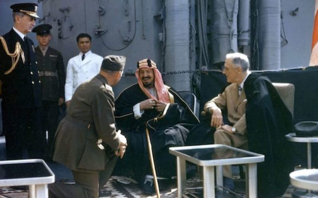 The Saudis, The Jews, And FDR's Dog