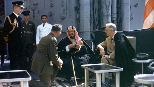 Saudi King FDR