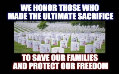 On Memorial Day Remember Those Who Gave Their Lives To Protect America