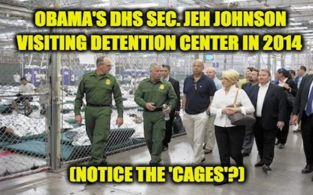AOC Cites Kids In Cages In Supporting Biden Ignores He And Obama Began Practice