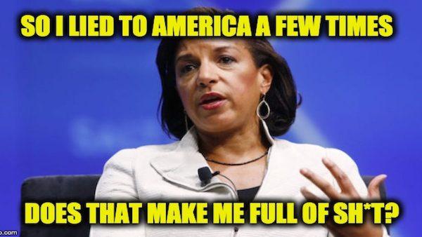 Susan Rice lies