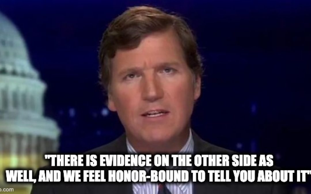 Tucker Carlson Throws Legitimate Shade At Tara Reade's Claims