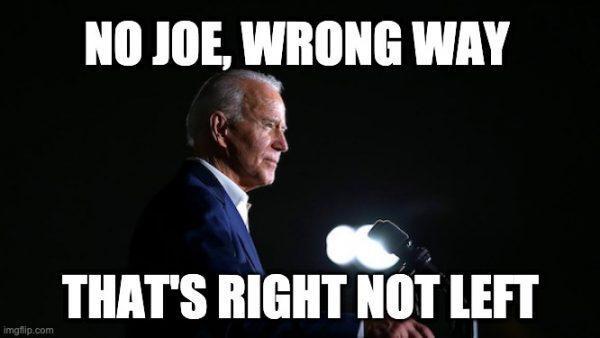 Biden's hard turn left
