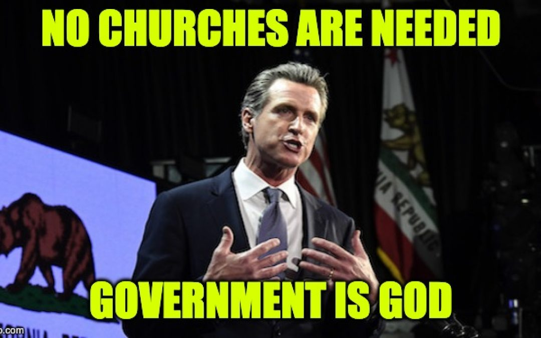 California Churches Revolt! Will Open Despite State, Local Orders