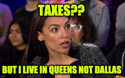Deadbeat AOC Owes State Taxes From 7 Years Ago On Failed Business Venture