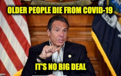 Cuomo on Nursing Home Deaths: Hey, Old People Die It's Not A Crime