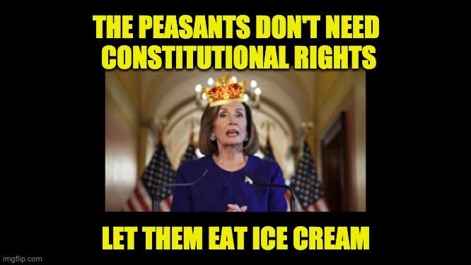 Mad Queen Pelosi