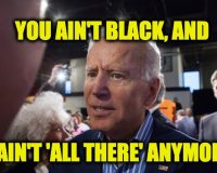 Will Biden's 'You Ain't Black' Error Force His V.P. Pick?